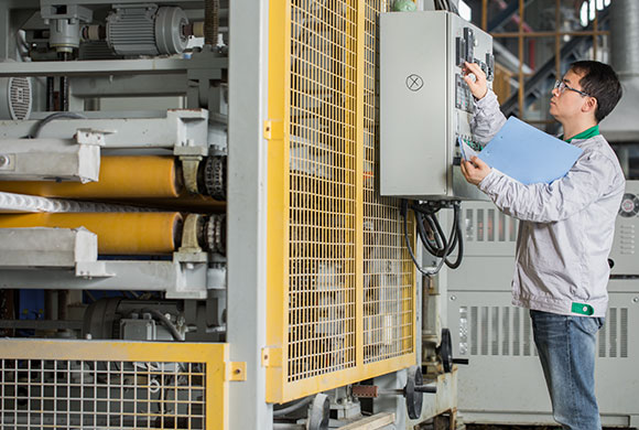 Multi-roller-haul-off-machine-of-our-XPS-board-production-lines